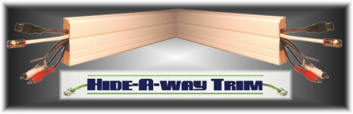 buy the patent hideaway trim baseboard moulding that hides wires patent for sale. Black Bedroom Furniture Sets. Home Design Ideas