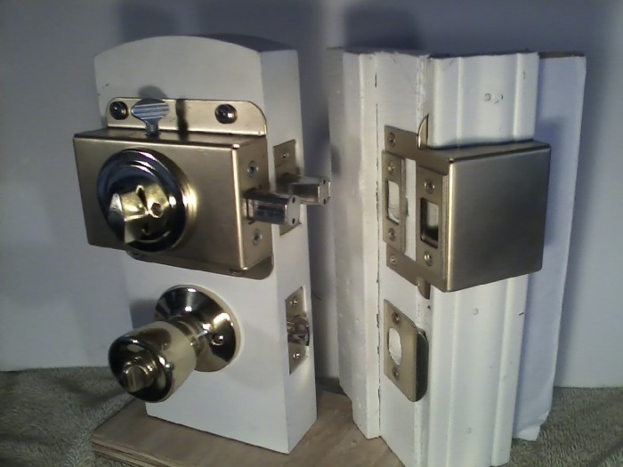 Buy The Patent Quot Double Deadbolt Quot Kick In Proof Lock Pick
