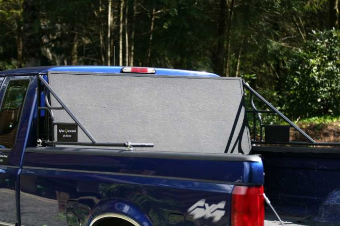 Pickup Truck Shelter : Buy the patent big pawz pickup truck bed pet shelter or