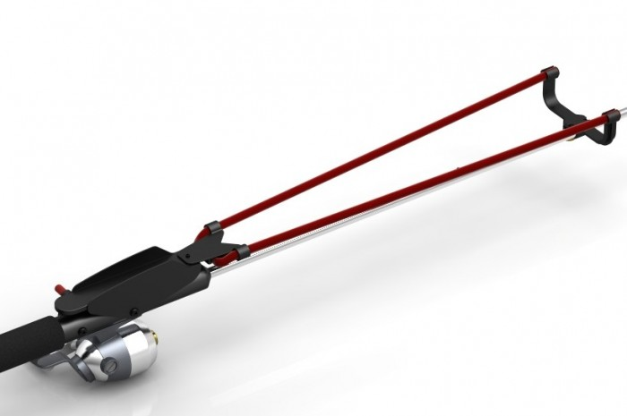 Buy the patent fishing rod with elastic sling bait for Fishing bait launcher